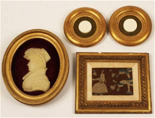 4 PC. MISC. LOT OF DECORATIVE ITEMS