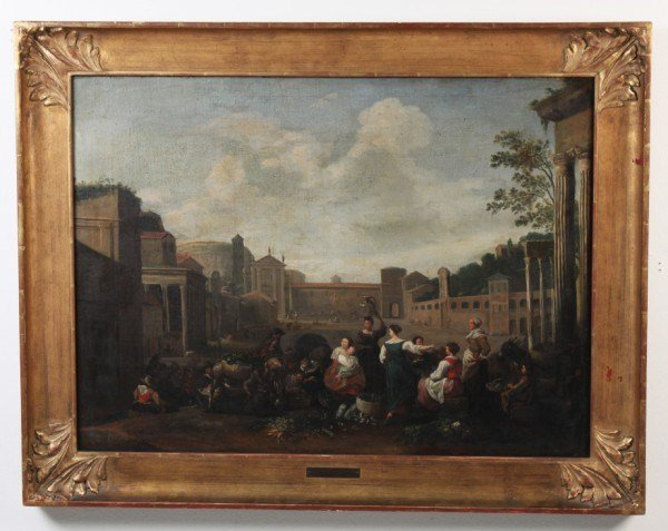 ATTR. TO HENDRIK MOMMERS, 17TH/18TH C. OIL ON CANVAS