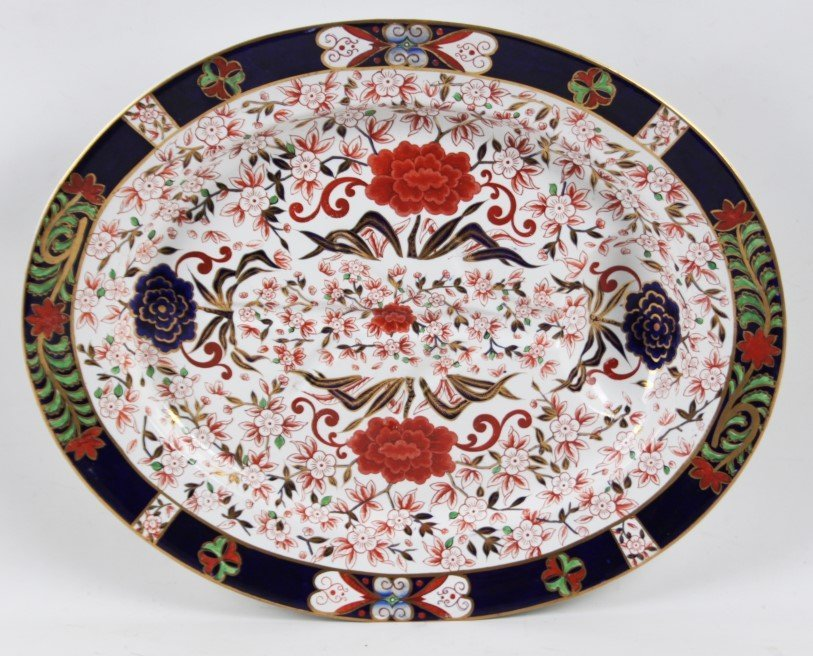 """22"""" MULTI-COLORED DERBY """"TREE-WELL"""" PLATTER"""