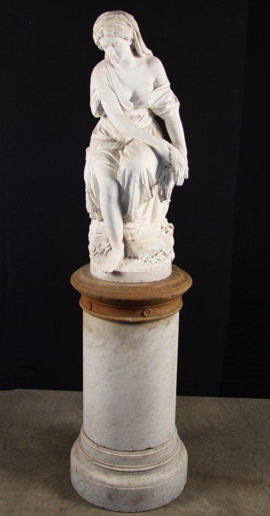RUTH BY LOMBARDI, (GIOBANNI BATTISTA 1823-1880)