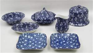 7 PIECE MISCELLANEOUS LOT OF STAFFORDSHIRE CHINA