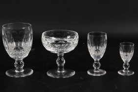 "36 Piece Set Of Waterford Crystal, ""colleen Pattern"""