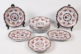 13 Piece Miscellaneous Lot Of English Ironstone