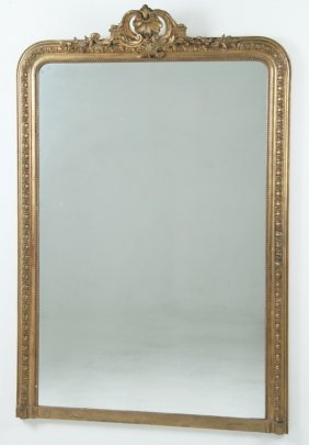 Large French Victorian Mirror