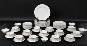 58 Piece Wedgewood Dinner Service By Ralph Lauren