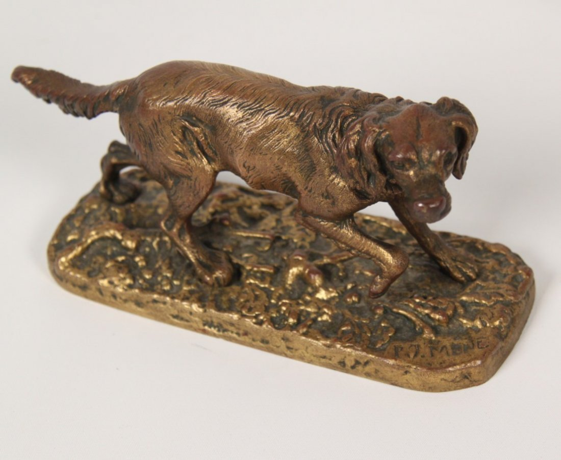 COLLECTION OF 6 ANIMALIER BRONZES INCLUDING P.J. MENE - 2