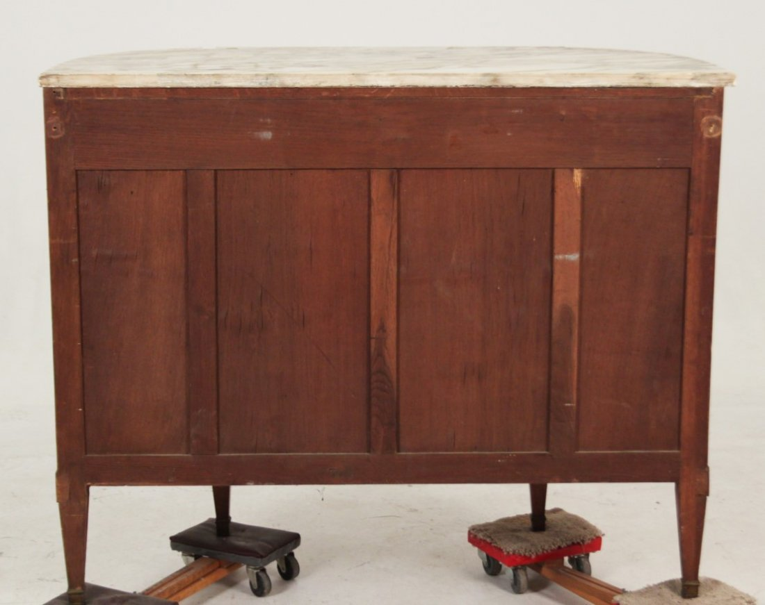 19TH C. LOUIS XV STYLE BRONZE MOUNTED MARBLE TOP BUFFET - 3