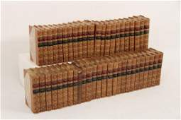 SET OF 47 CONSECUTIVE LEATHER BOUND BOOKS