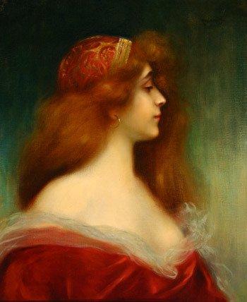 588: Alexis Alexejewitsch Harlamoff (Russian 1842-1915)