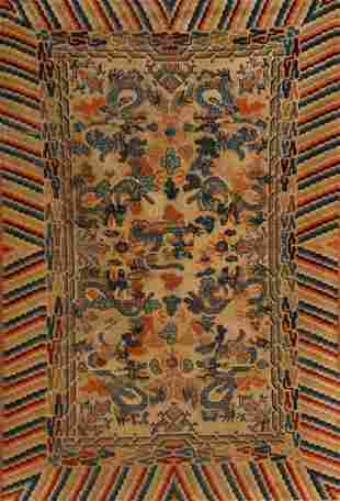 Chinese Rug First Quarter 20th Century