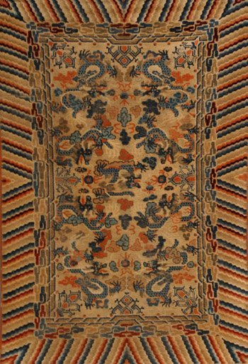 1003: Chinese Rug First Quarter 20th Century