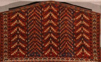 1010: Yomud Turkoman Asmalyk Late 19th Century