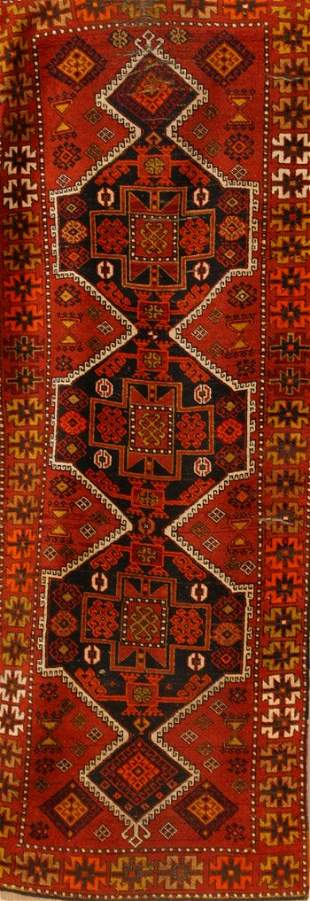 Caucasian Rug Second Quarter 20th Century 9 ft x