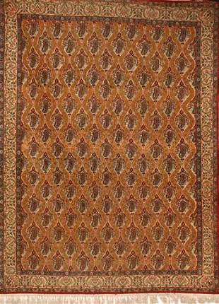 Tabriz Rug Post 1950 10 ft 4 in x 7 ft 9 in (315