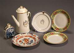 1501: Group of Six Chinese Export Table Articles Qianlo