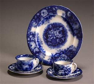 Group of Five August Nowotny & Co. Flow Blue Table A
