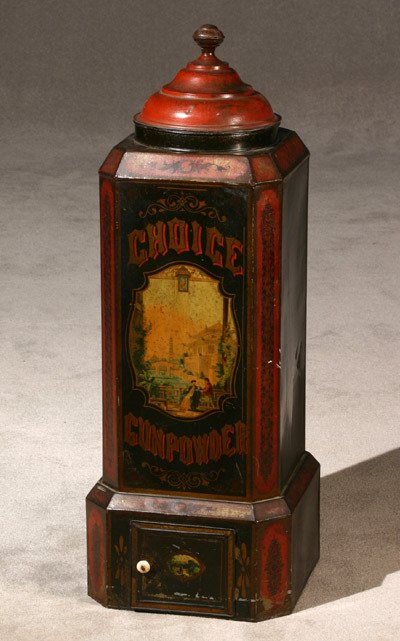 273: Painted and Lithographed Choice Gunpowder Tea Stor