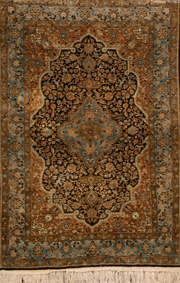 308: Goum Rug Post 1950 5 ft 3 in x 3 ft 7 in (160 x 26
