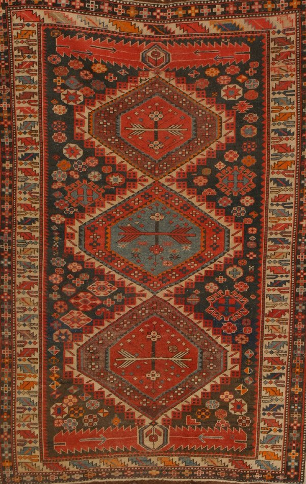 322: Caucasian Rug Second Quarter 20th Century 5 ft 8 i