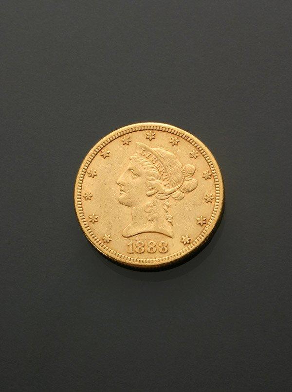 12: U.S. Eagle Ten-Dollar Gold Coin