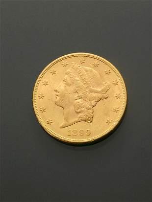 U.S. Double Eagle Twenty-Dollar Gold Coin
