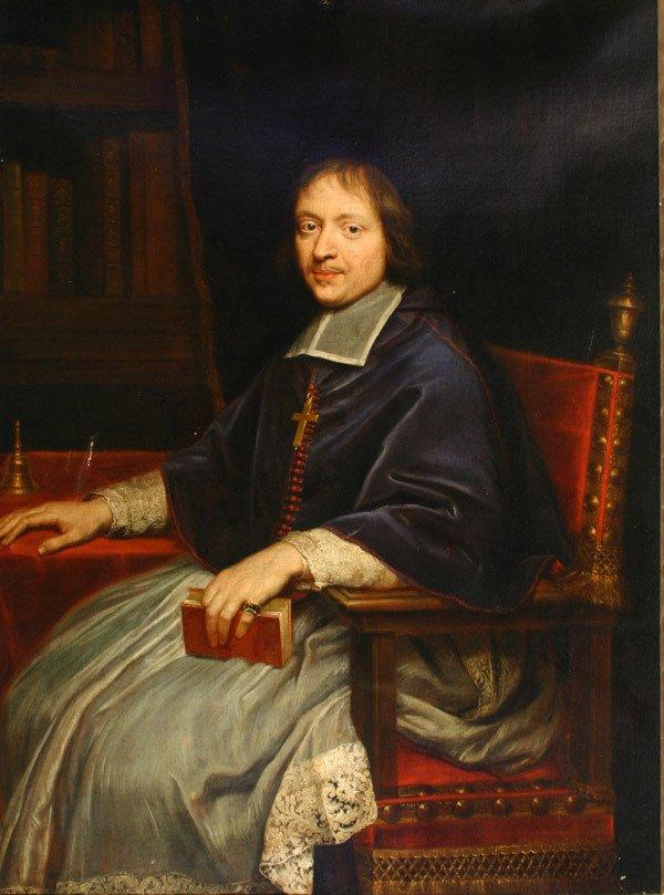 576: Italian School, 18th-19th Century Portrait of a Ca
