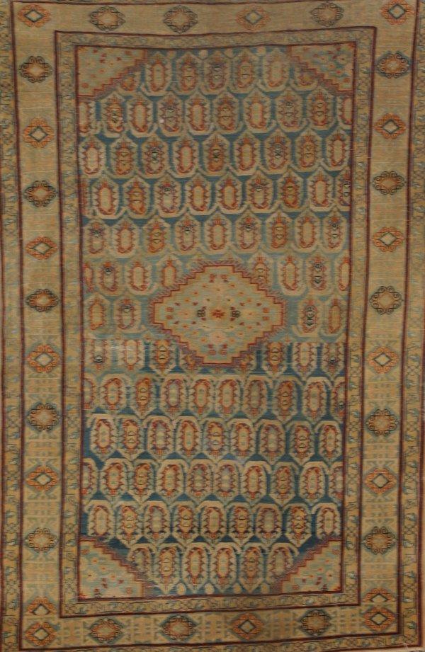 1004: Tabriz Rug Second Quarter 20th Century 6 ft x 3 f