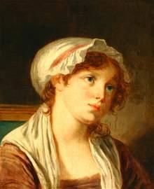 1301: Manner of Jean Baptiste Greuze (French 1725-1805)