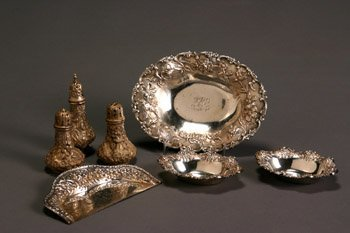 17: American Sterling 12-Piece Condiment Set