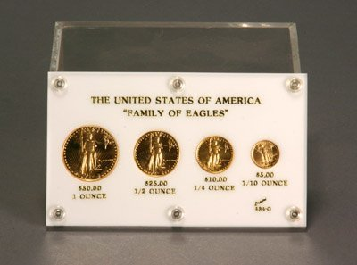 1018: United States of America 'Family of Eagles' Four