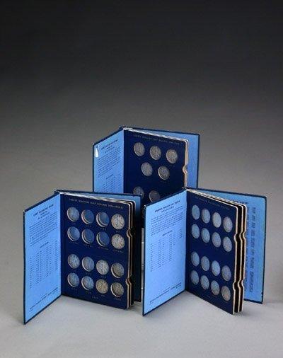 1019: Three Incomplete Volumes of Walking Liberty, Benj