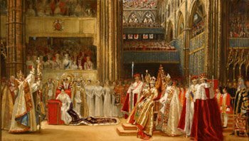 1546: Francis Owen Salisbury (British 1874-1962) Corona