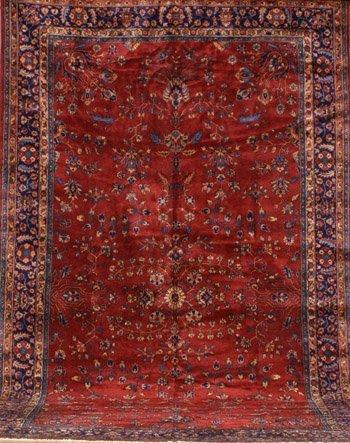 2013: Tabriz Rug Circa 1920 16 ft x 9 ft 5 in (488 x 28