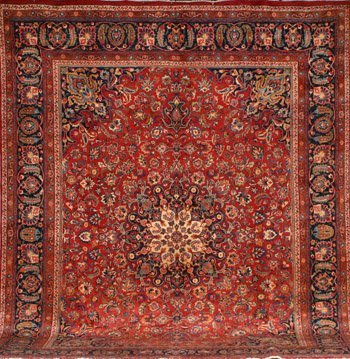 2015: Meshed Rug Post 1950 14 ft 6 in x 11 ft 2 in (442