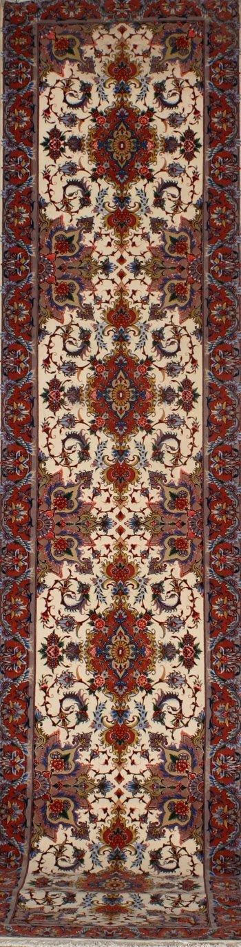 2016: Tabriz Rug Post 1950 13 ft 1 in x 2 ft 11 in (399