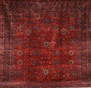 2024: Tabriz Rug Circa 1920 15 ft x 12 ft (458 x 366 cm