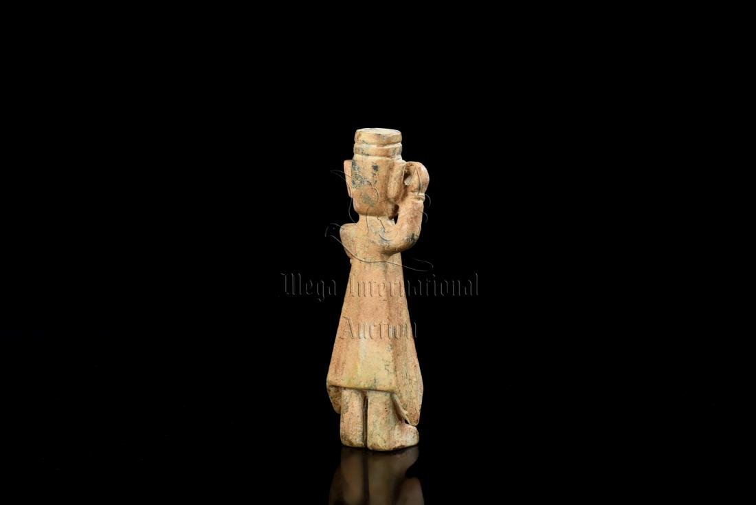 JADE CARVED 'PERSON' FIGURE - 2