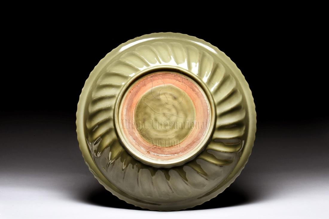 LONGQUAN WARE IMPRESSED 'FLOWERS' CHARGER - 4