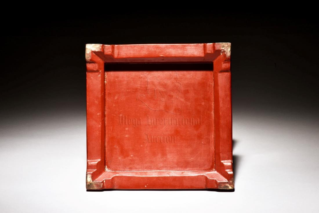 WOODEN LACQUER BOX - 4