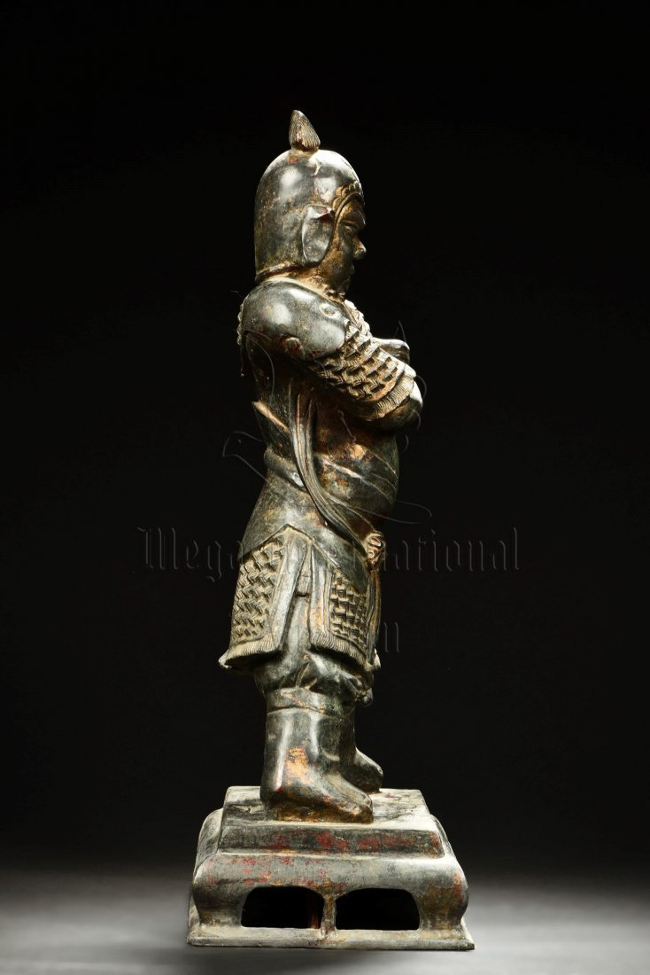 BRONZE CAST GUARDIAN STATUE - 2