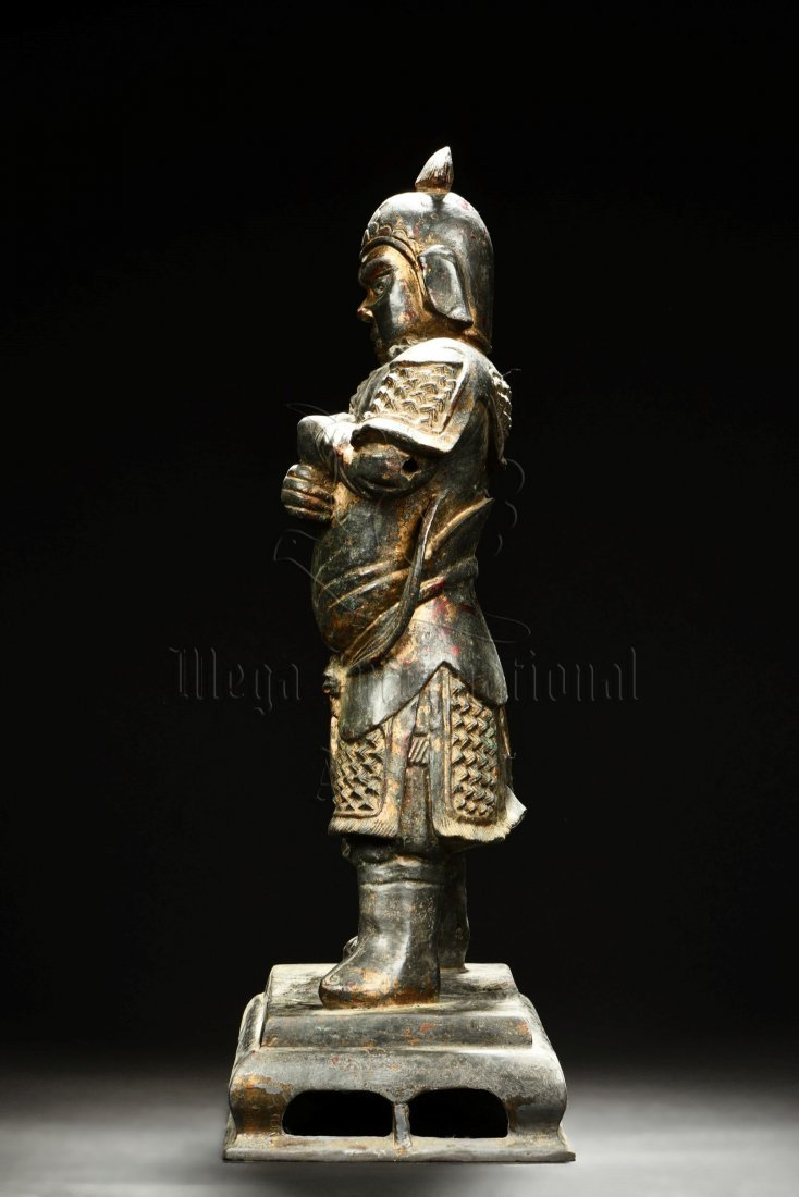 BRONZE CAST GUARDIAN STATUE - 4