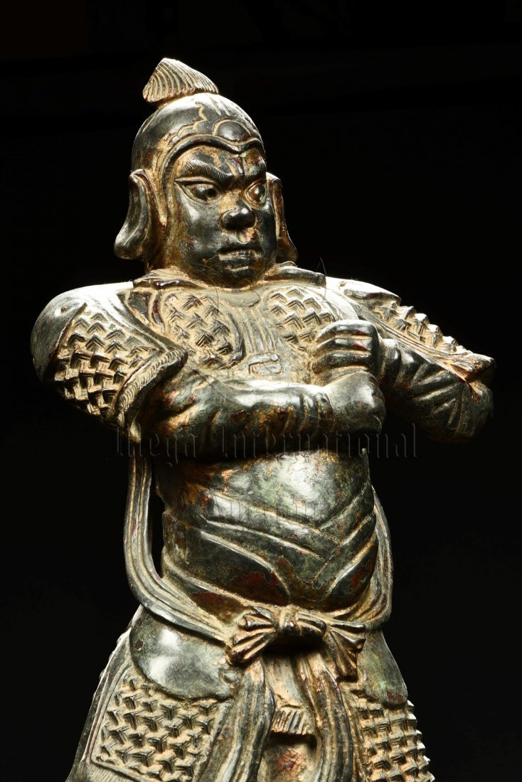 BRONZE CAST GUARDIAN STATUE - 6