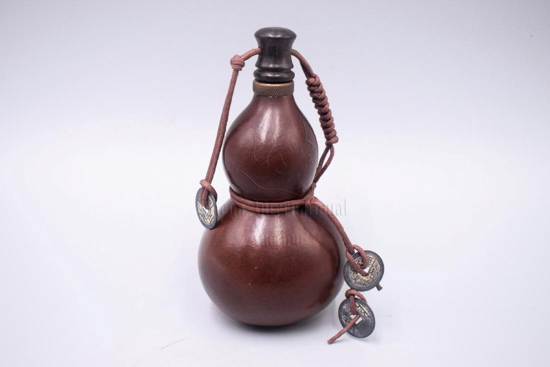 DOUBLE GOURD MOULDED EWER