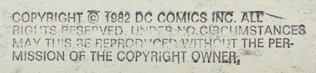 ORIGINAL SUPERMAN COMIC OFFSET STORYBOARD ISSUE #378 - 3