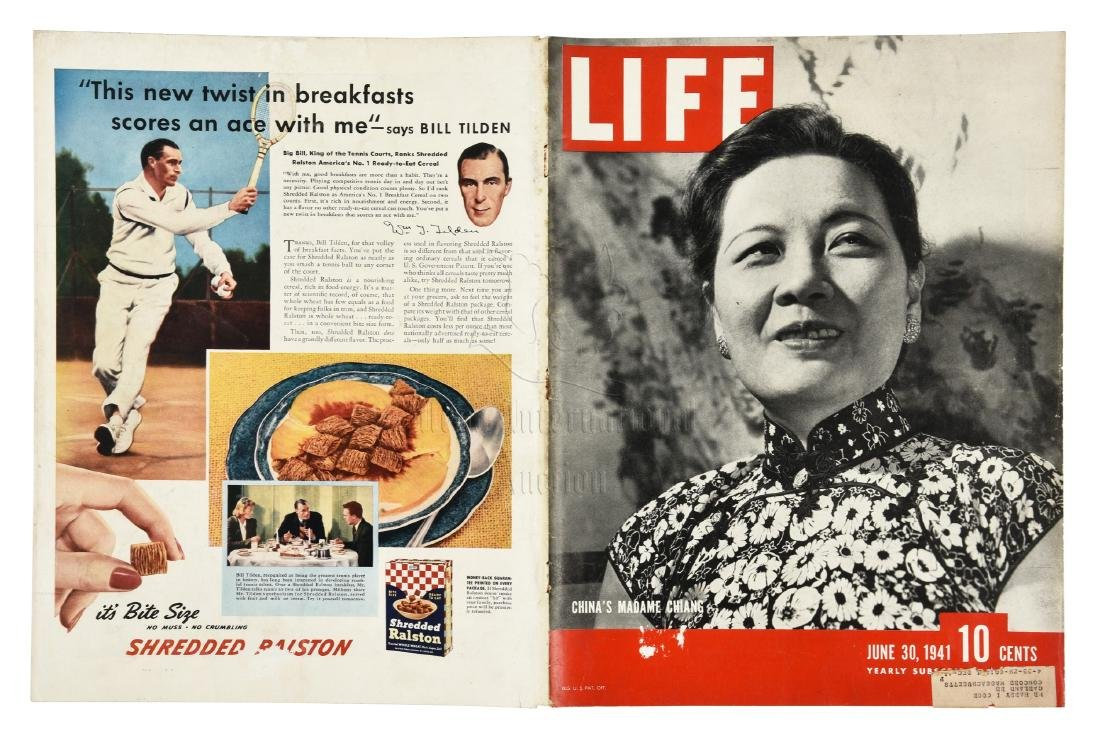 MADAME CHIANG SOONG MEI-LING TIME MAGAZINE COVER AND - 2