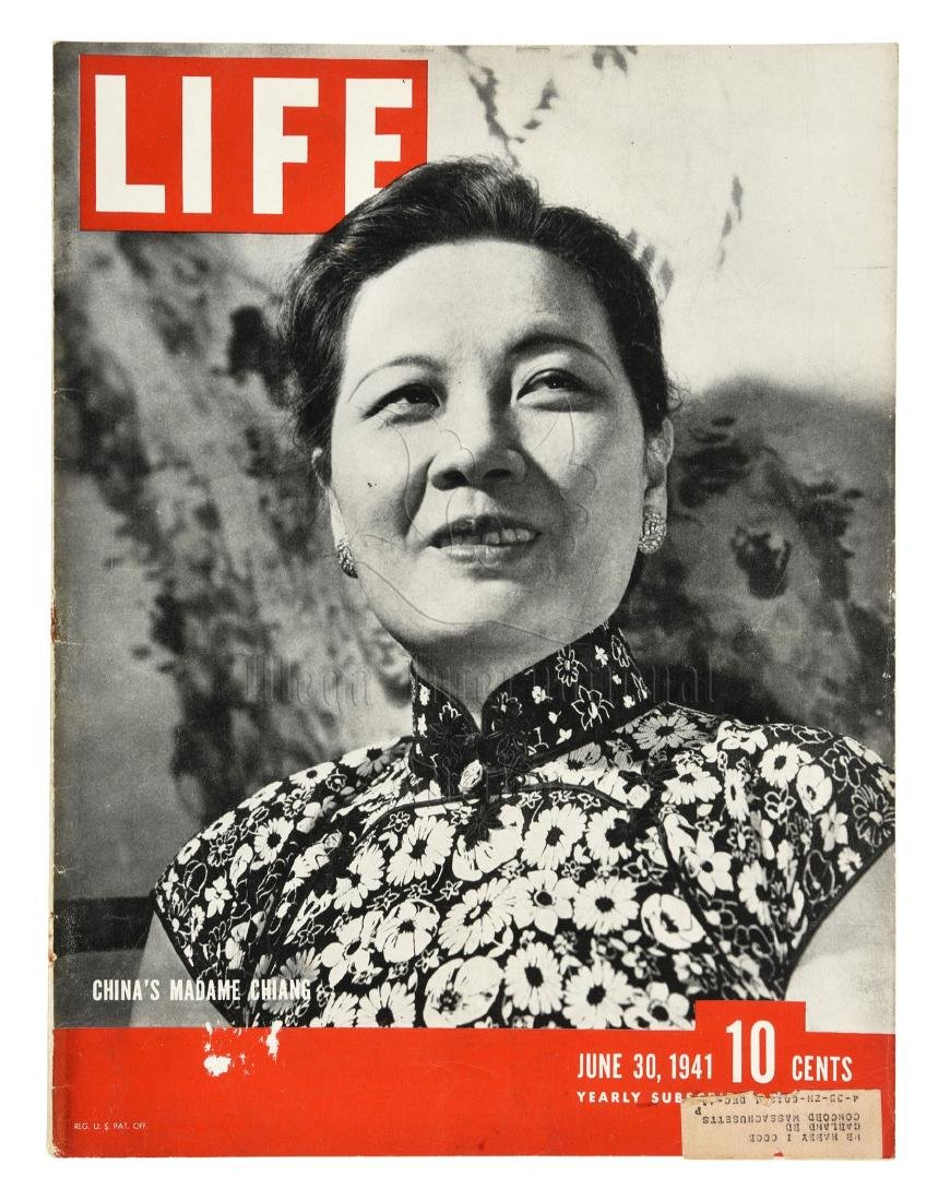 MADAME CHIANG SOONG MEI-LING TIME MAGAZINE COVER AND - 4