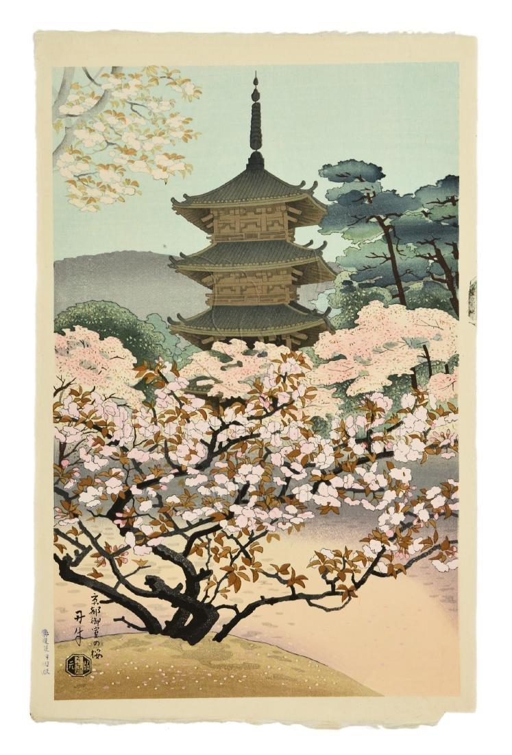 JAPANESE PRINT 'KYOTO'
