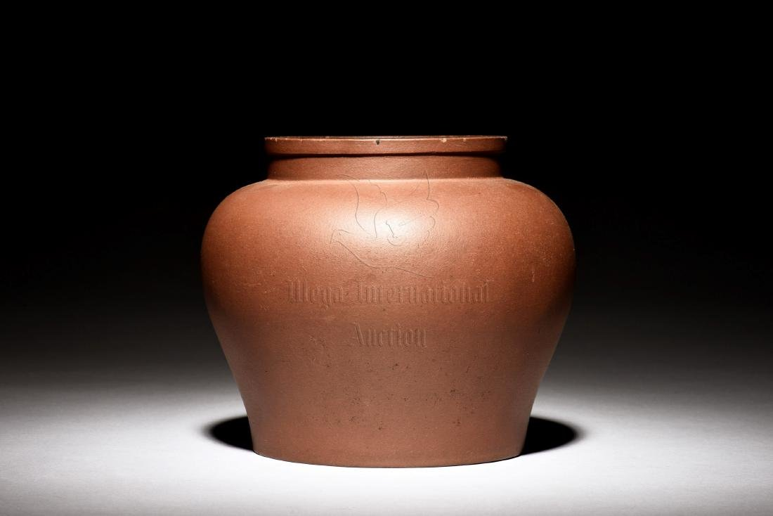 YIXING ZISHA CLAY JAR - 2