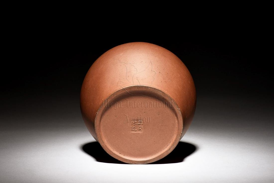 YIXING ZISHA CLAY JAR - 3