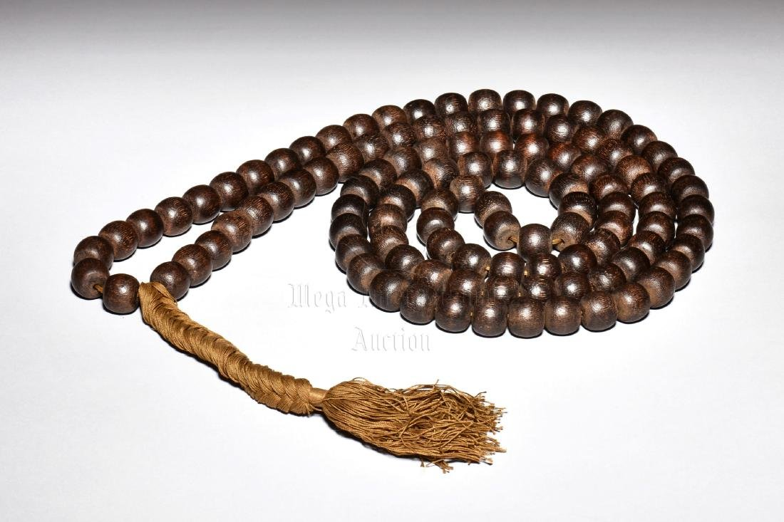 AGARWOOD PRAYER BEADS NECKLACE